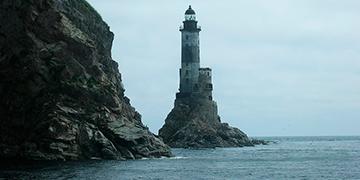 Морская поездка на маяк Анива