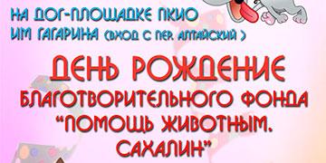 """День рождения благотворительного фонда """"Помощь животным. Сахалин"""""""