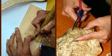 Мастер-классы по обработке кожи рыбы и резьбе по дереву