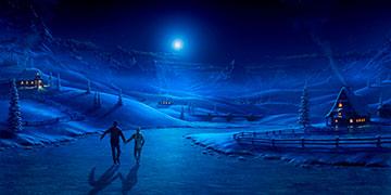 Ночь на льду