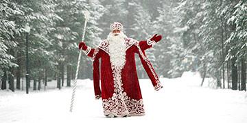 Красная Королева vs Дед Мороз
