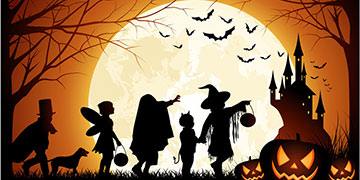 Хеллоуин вечеринка (8-12 лет)