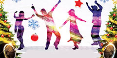 Новогодние дискотеки для школьников
