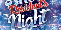 Snow Resident's Night