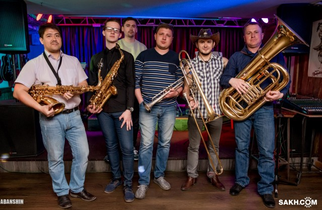 Ковбой, Island brass band, 27.04.2018