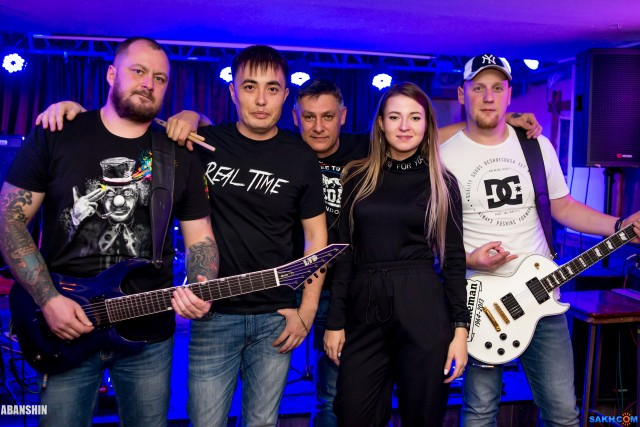 Ковбой, Группа Real Time, 17.11.2017